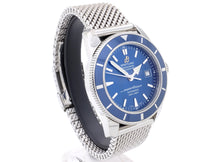 Load image into Gallery viewer, Breitling 'SUPEROCEAN HÉRITAGE 42' A1732116 on Shark-Mesh Bracelet