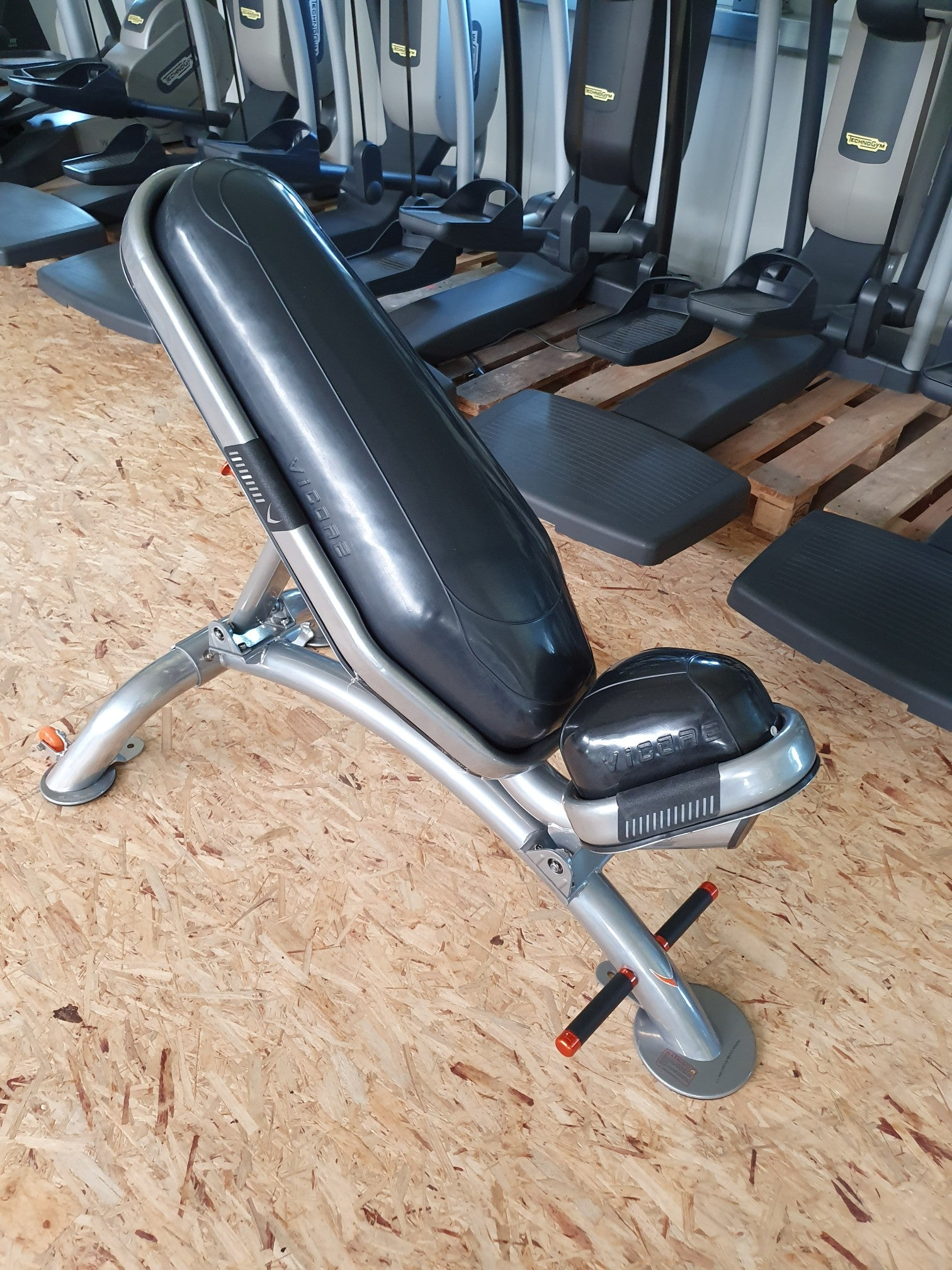Vicore Multi Funktions Luft Polster Hantel Bank Adjustable Bench Fitness Gym