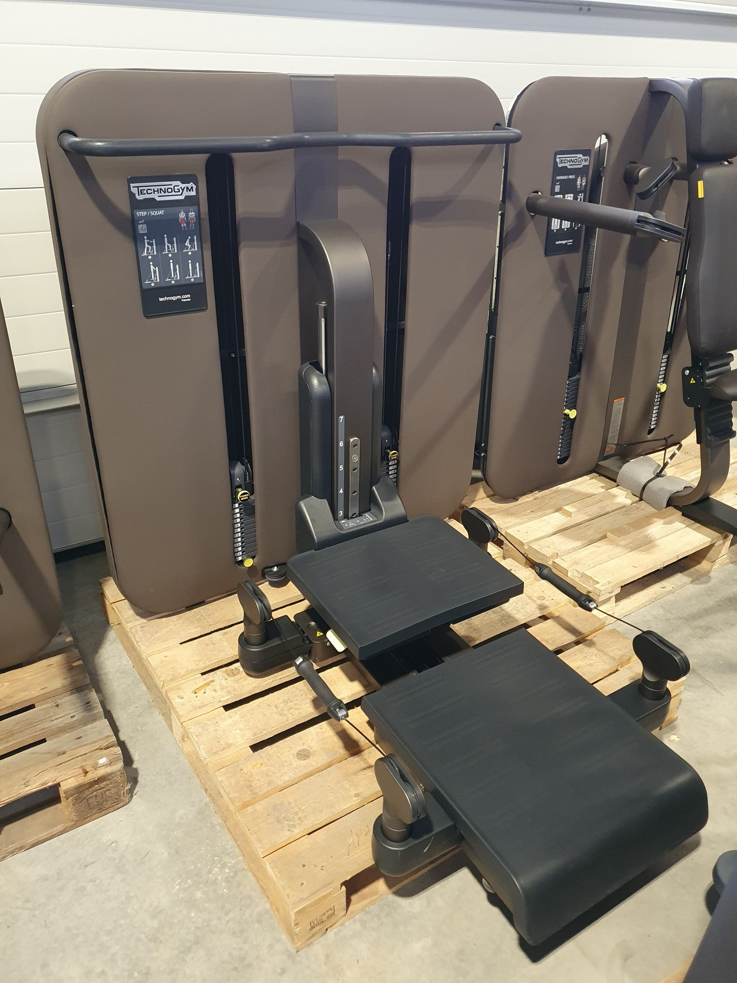 TECHNOGYM KINESIS Squat Station Kraft Strength Machine Fitness Gym