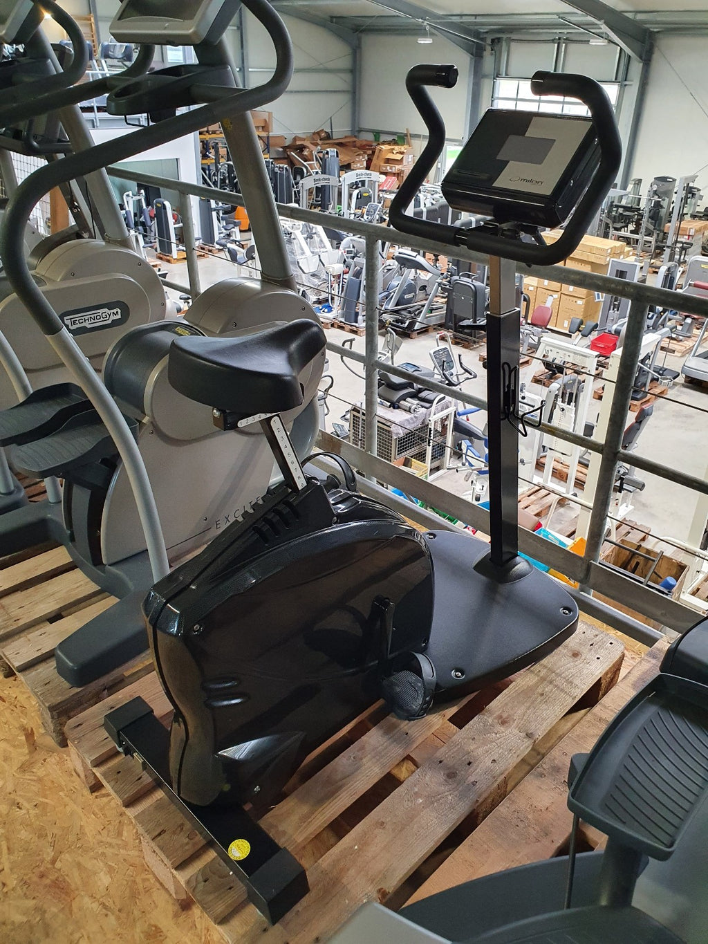 MIHA MILON Club Test Bike Fahrrad Ergometer Physio Fitness Studio Gym