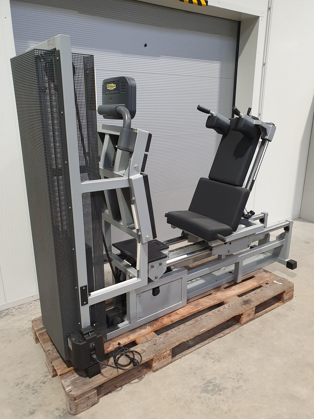 TECHNOGYM SILVER LINE Bein Presse Leg Press Horizontal Fitness Studio Gym