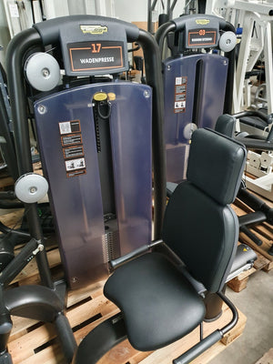 PROFI TECHNOGYM Selection Line Black Calf Waden Presse Fitness Gym