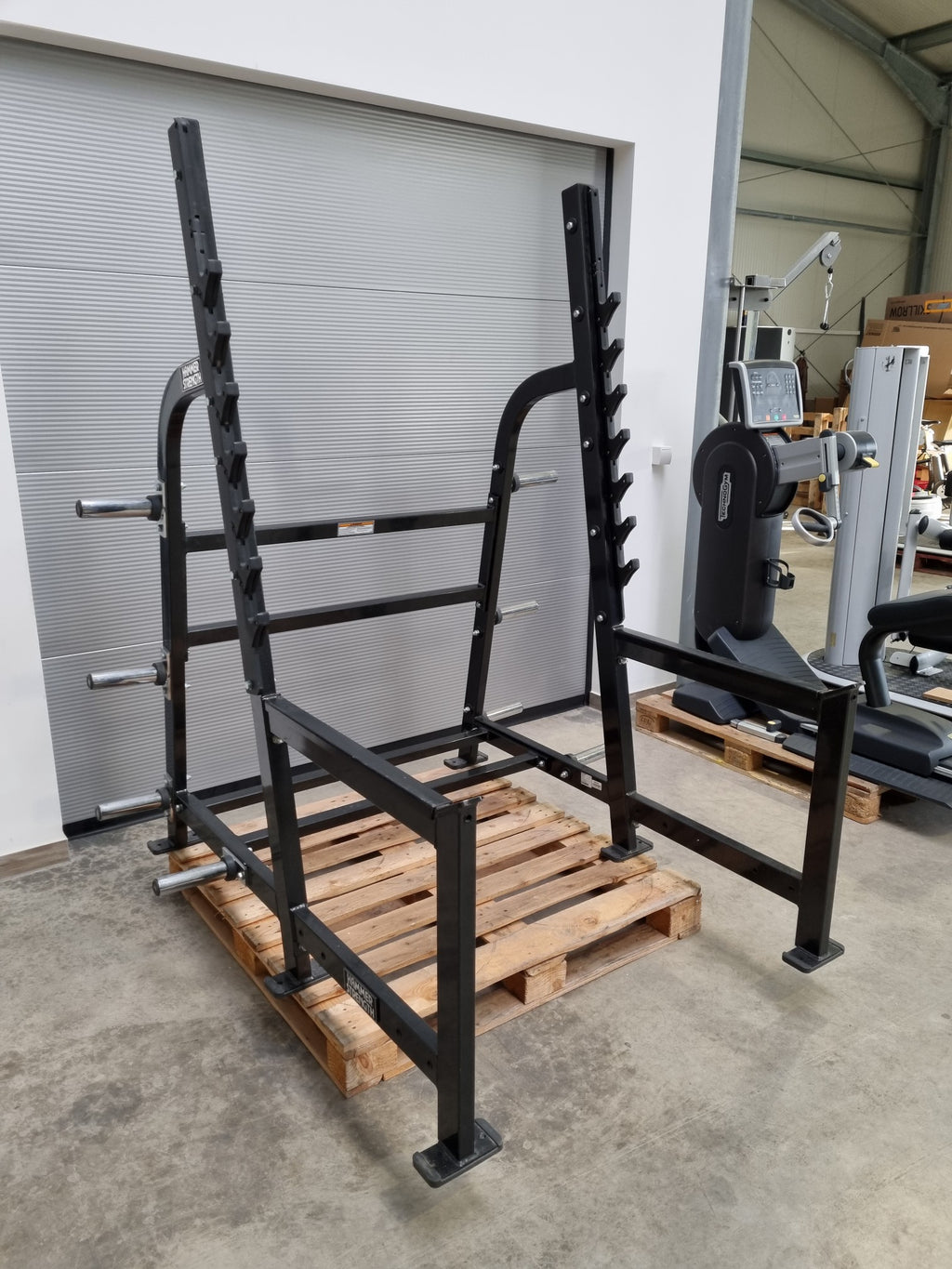 HAMMER STRENGTH Multi Power Rack Bankdrücken Kniebeugen Gestell Fitness Gym