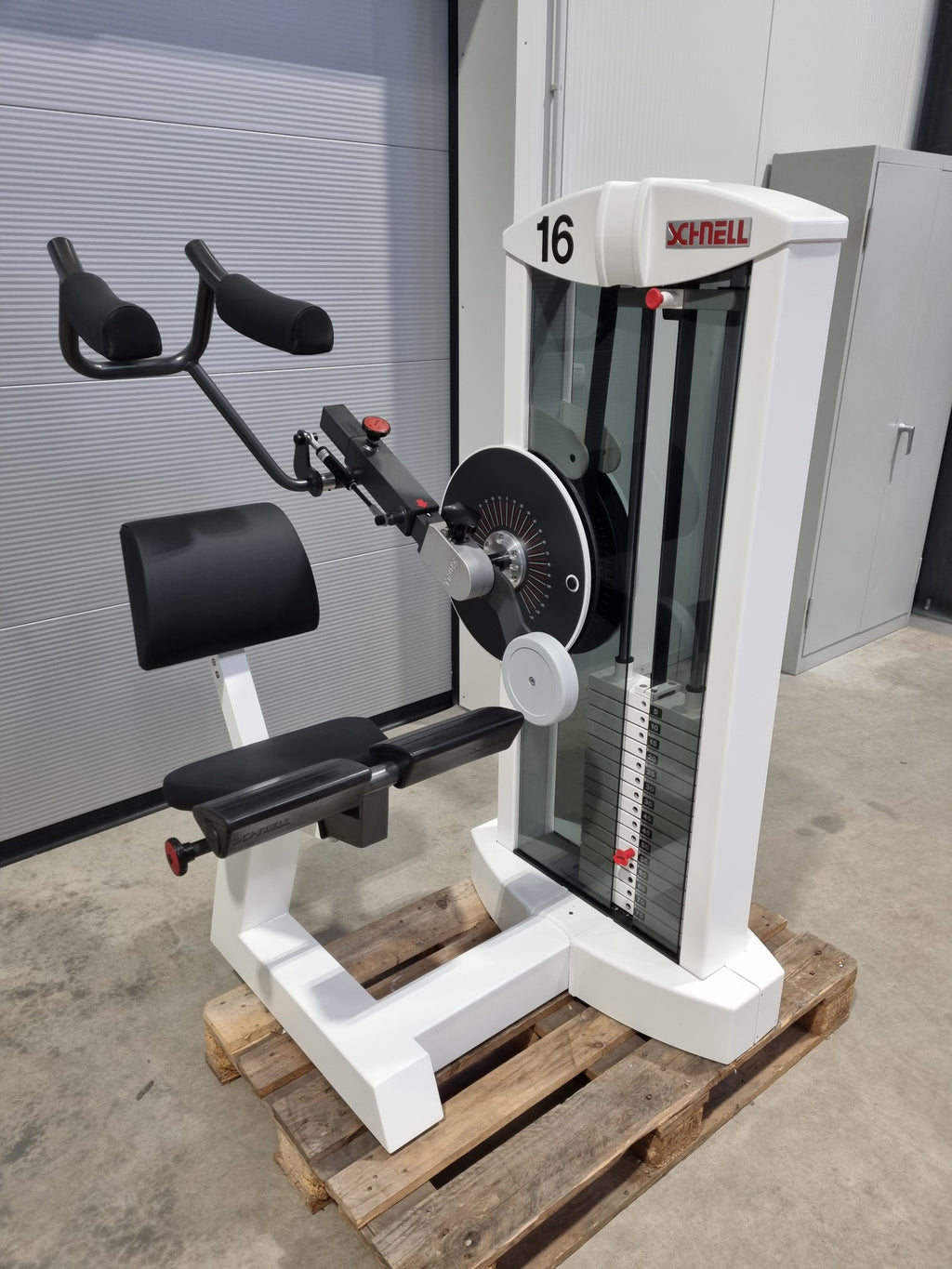 SCHNELL Target Line Bauch Maschine Ab Machine Fitness Studio Gym