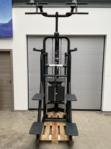 TECHNOGYM Selection Line Black Easy Chin Dip Klimmzug Dip Maschine Fitness