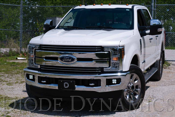 2017-2020 Ford Super Duty Diode Dynamics SS3 fog light kit SAE/DOT LED Pod (Pair)