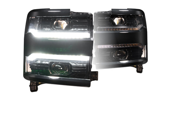 CHEVROLET SILVERADO HD (16-19): XB LED HEADLIGHTS