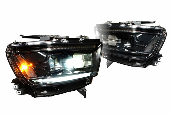 DODGE RAM (19+): XB LED HEADLIGHTS