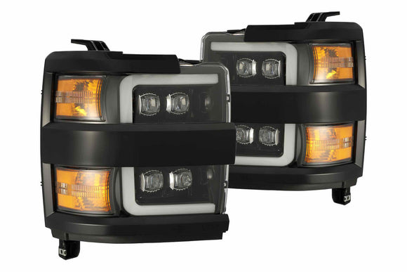 CHEVY SILVERADO HD (15-19): ALPHAREX NOVA HEADLIGHTS