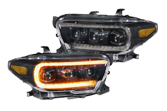 TOYOTA TACOMA (16+): XB LED HEADLIGHTS (AMBER) PRE ORDER ONLY