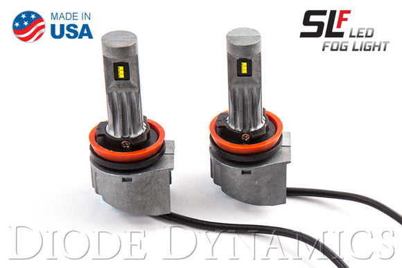 H8 SLF LED Yellow Pair Diode Dynamics