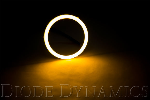 Halo Lights LED 100mm Amber Single Diode Dynamics