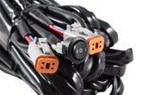 Heavy Duty Dual Output 3-way 4-pin Wiring Harness