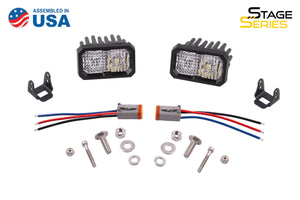 Stage Series C2 SAE/DOT Standard LED Pod (pair)