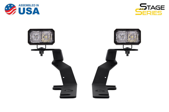 Stage Series C2 LED Ditch Light Kit for 2015-2020 Ford F-150/Raptor