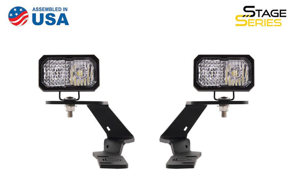 Stage Series C2 LED Ditch Light Kit for 2018-2020 Subaru Crosstrek