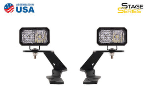 "Stage Series 2"" LED Ditch Light Kit for 2016-2020 Toyota Tacoma"