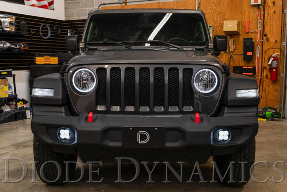 2018-2020 Jeep JL/JT Wrangler/Gladiator Sport SS3 SAE/DOT Type MS Fog Light Kit