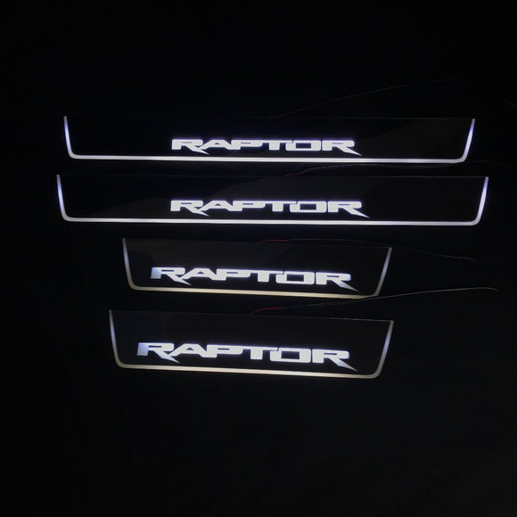 Led door sill for Ford Raptor F150 4pcs