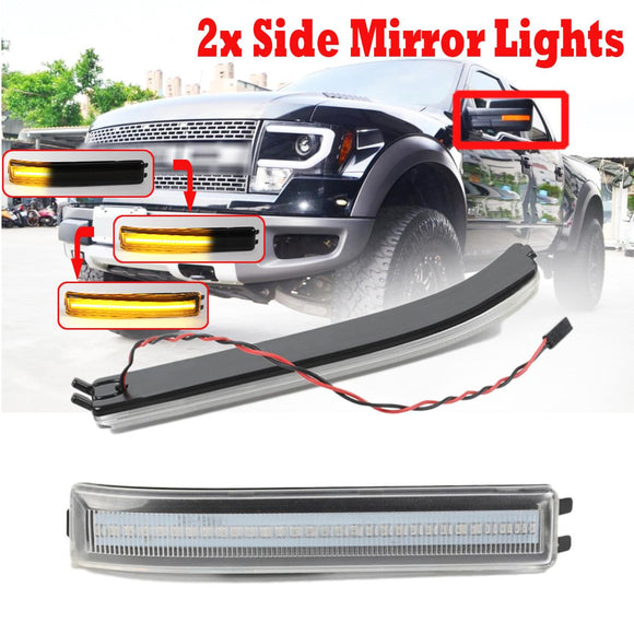 Side Mirror Indicator Blinker Light (Front) For Ford F150 and Raptor 2009-2014
