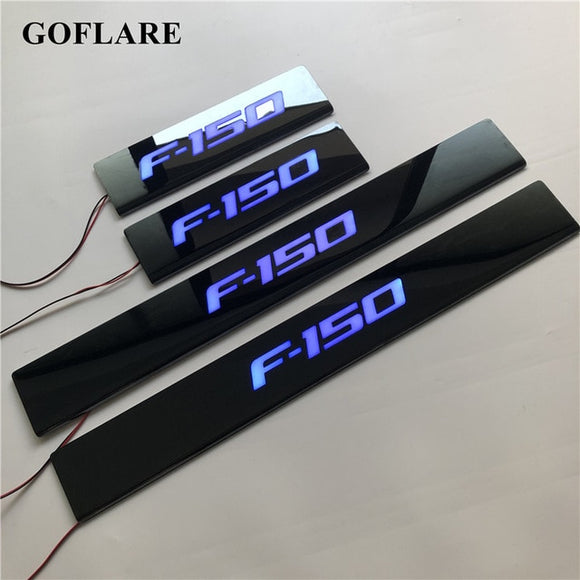 LED door sill strip for Ford F-150 F150 2009-2011 2012-2018