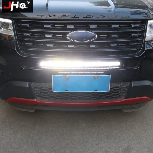 Front Grille LED Light Bar For Ford Explorer 2011-2018 Car Accessories 2017 2016 2015 2014 2013 2012