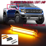 Solid LED Turn Signal Mirror Lamp For Ford F150 Raptor Expedition Lincoln Mark LT