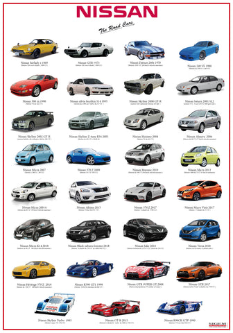 The Road Cars POSTER NISSAN