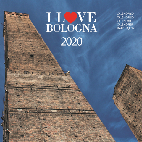 Calendario I Love Bologna Murale