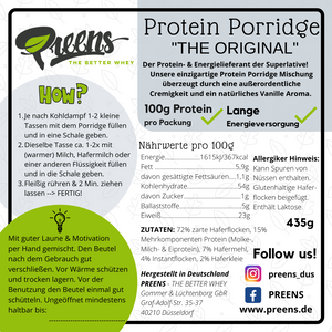"Protein Porridge ""The Original"" 435g"