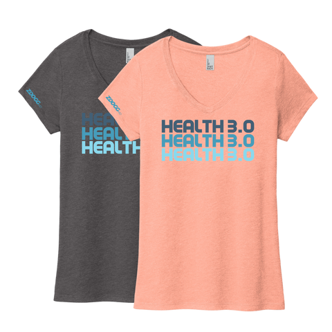 HEALTH 3.0 • ladies v-neck tee