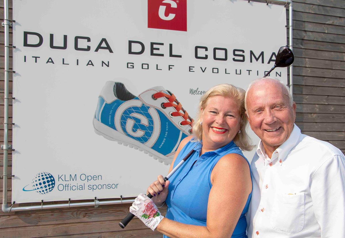 Caroline and Frank Wezel of Duca Del Cosma