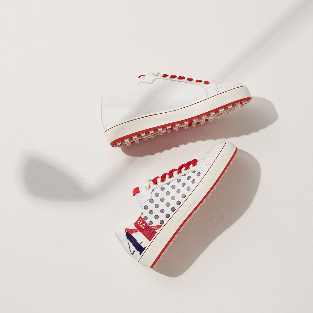 Esti womens polka dot golf shoes