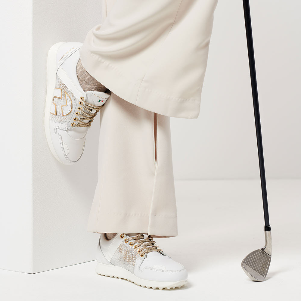 close up view of womens vogue golf shoe