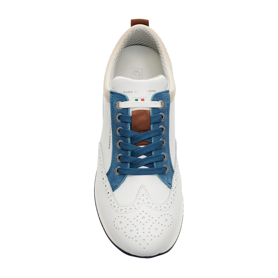 Men's Camelot White / Denim Golf Shoe
