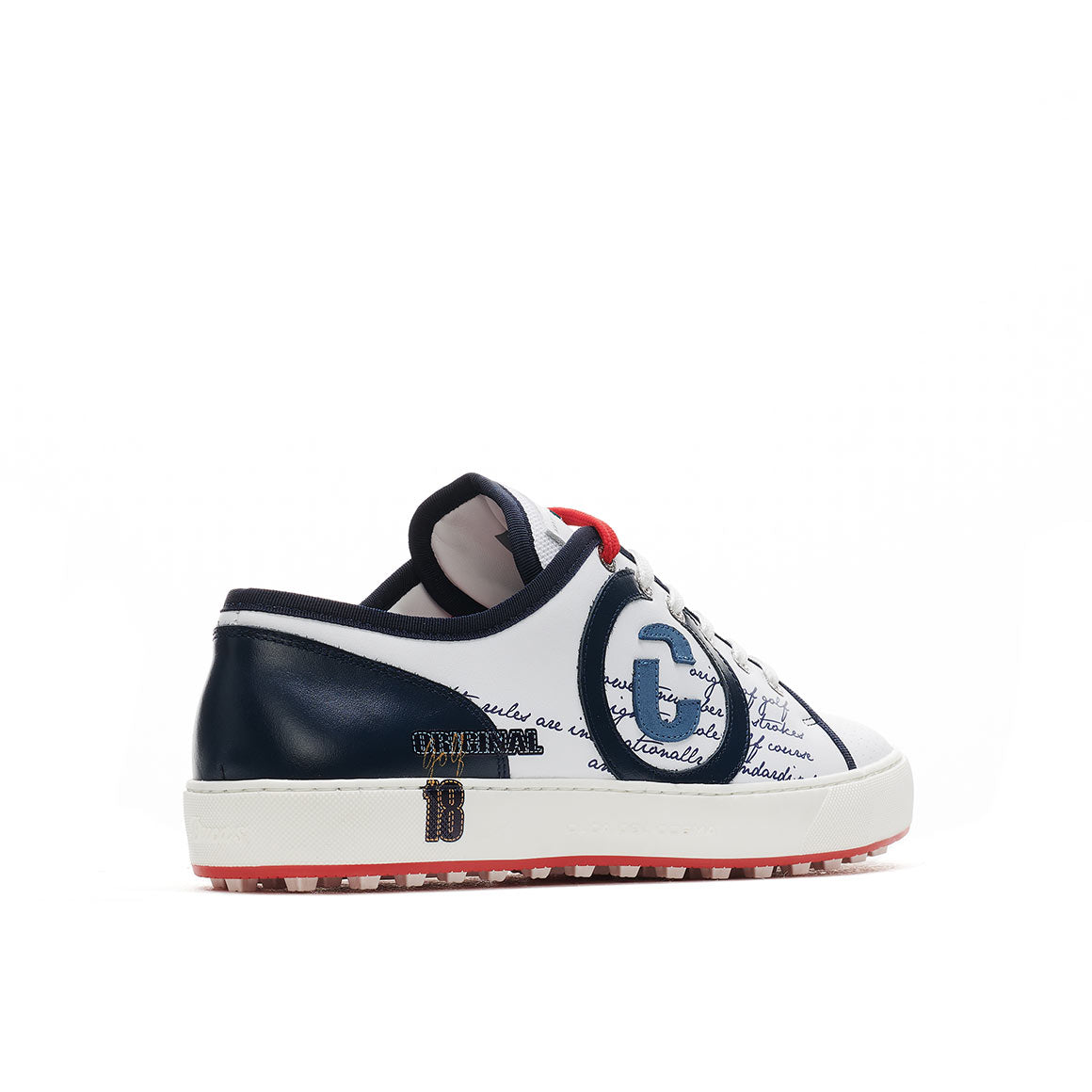 Men's Florida White / Navy Golf Sport Shoe