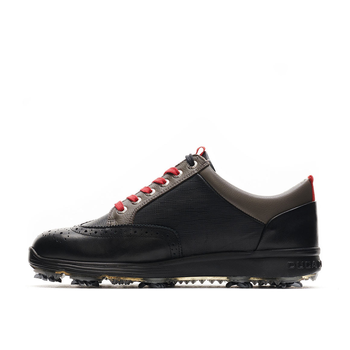 Men's Heritage Black / Grey Golf Shoe