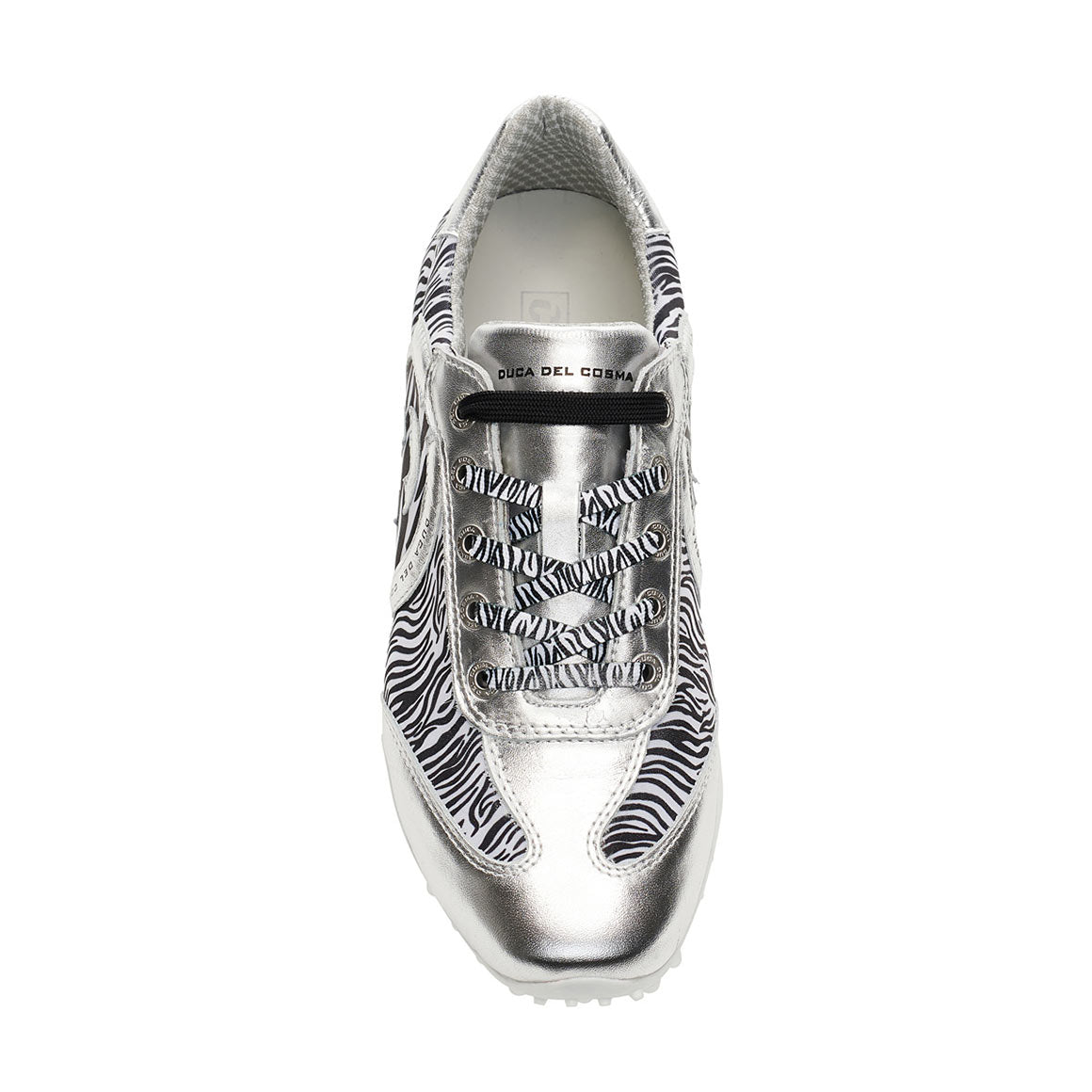 Women's Kubana Silver / Zebra Golf Shoe