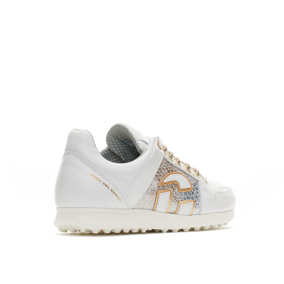 Women's Vogue White / Gold Golf Shoe
