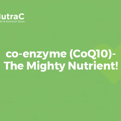 CoQ10-The Mighty Nutrient!