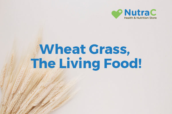 Wheat grass, The Living Food