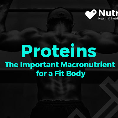 Proteins-The Important Macro nutrient for a Fit Body