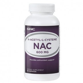 GNC NAC 600mg (60 Capsules) - NutraC - Health & Nutrition Store