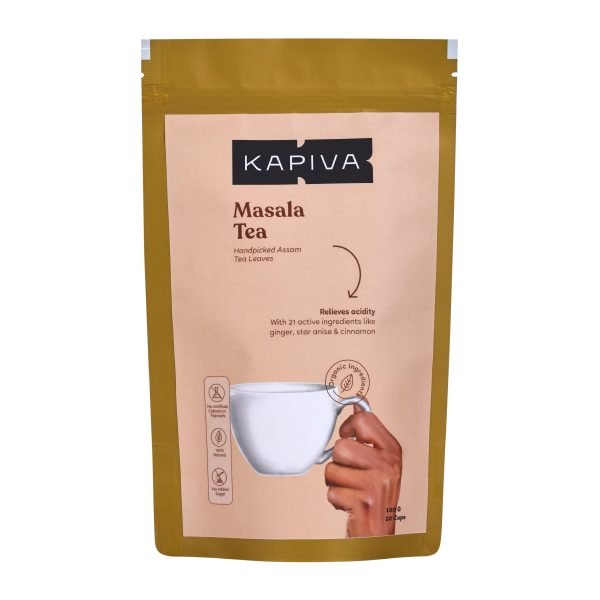KAPIVA MASALA TEA100 grams - NutraC - Health & Nutrition Store