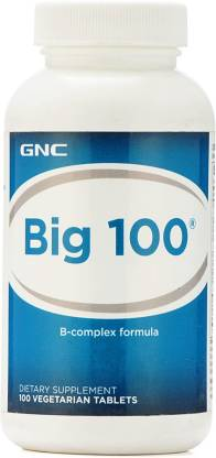 GNC Big 100 B-Complex Formula (100 Tablets)