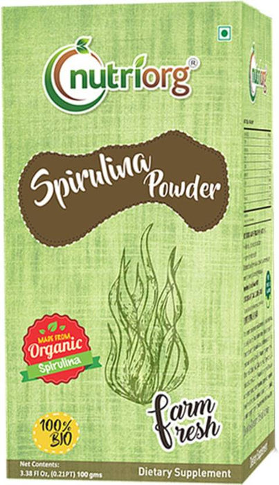 Nutriorg Spirulina Powder