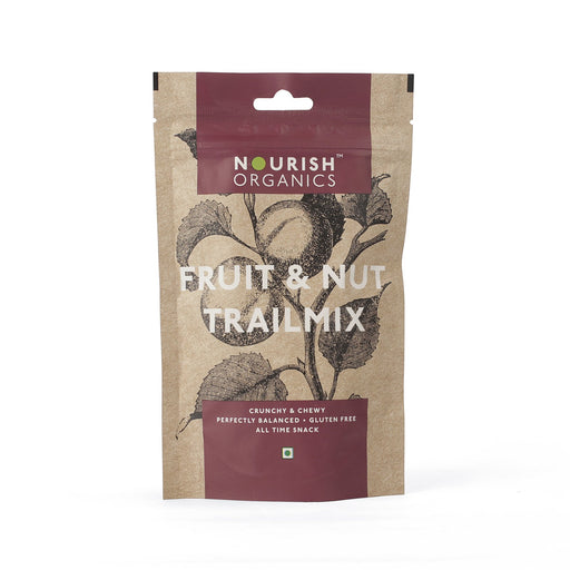 Nourish Organics Fruit & Nut Trail Mix - NutraC - Health & Nutrition Store