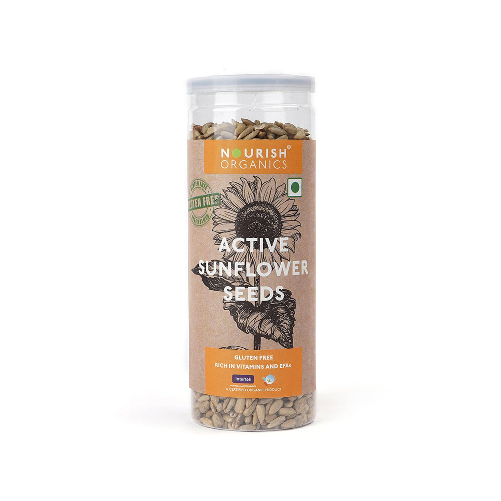 Nourish Organics Active Sunflower Seeds - NutraC - Health & Nutrition Store