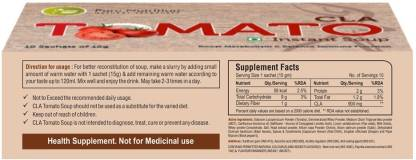 Pure Nutrition CLA Tomato Soup 10 Sachet - Increase Immunity and Balance Your Metabolism - NutraC - Health & Nutrition Store