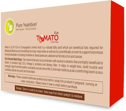 Pure Nutrition CLA Tomato Soup 10 Sachet - Increase Immunity and Balance Your Metabolism